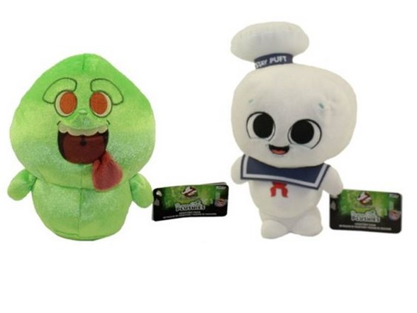 Funko Stay Puft & Slimer Plushies