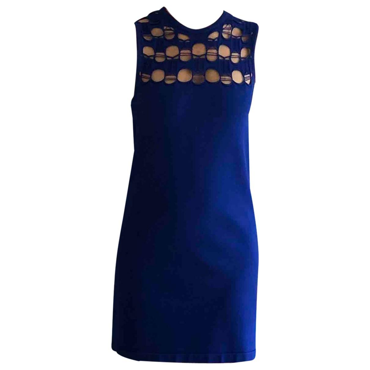 Louis Vuitton \N Kleid in  Blau Polyester
