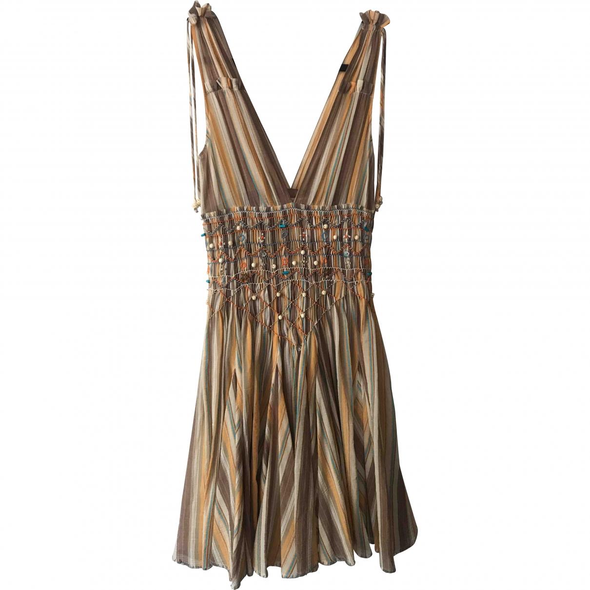Matthew Williamson \N Kleid in  Bunt Baumwolle