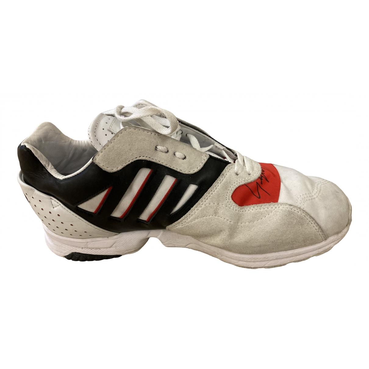 Y-3 \N Sneakers in  Weiss Leder