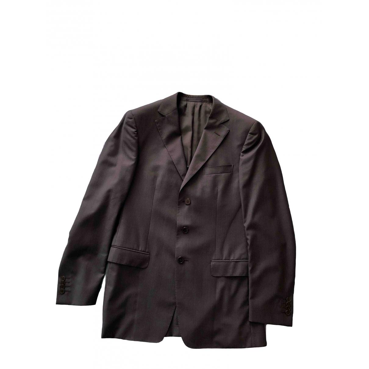 Z Zegna \N Blue Wool Suits for Men 48 IT
