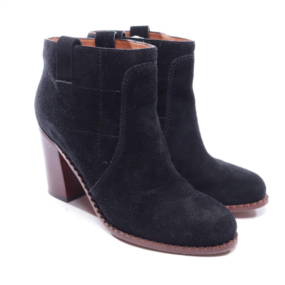 Marc Jacobs - Boots   pour femme en suede - noir