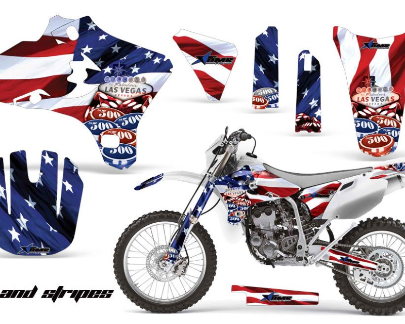 AMR Racing Dirt Bike Graphics Kit Decal Wrap For Yamaha YZ250F YZ450F 2003-2005áUSA SINS