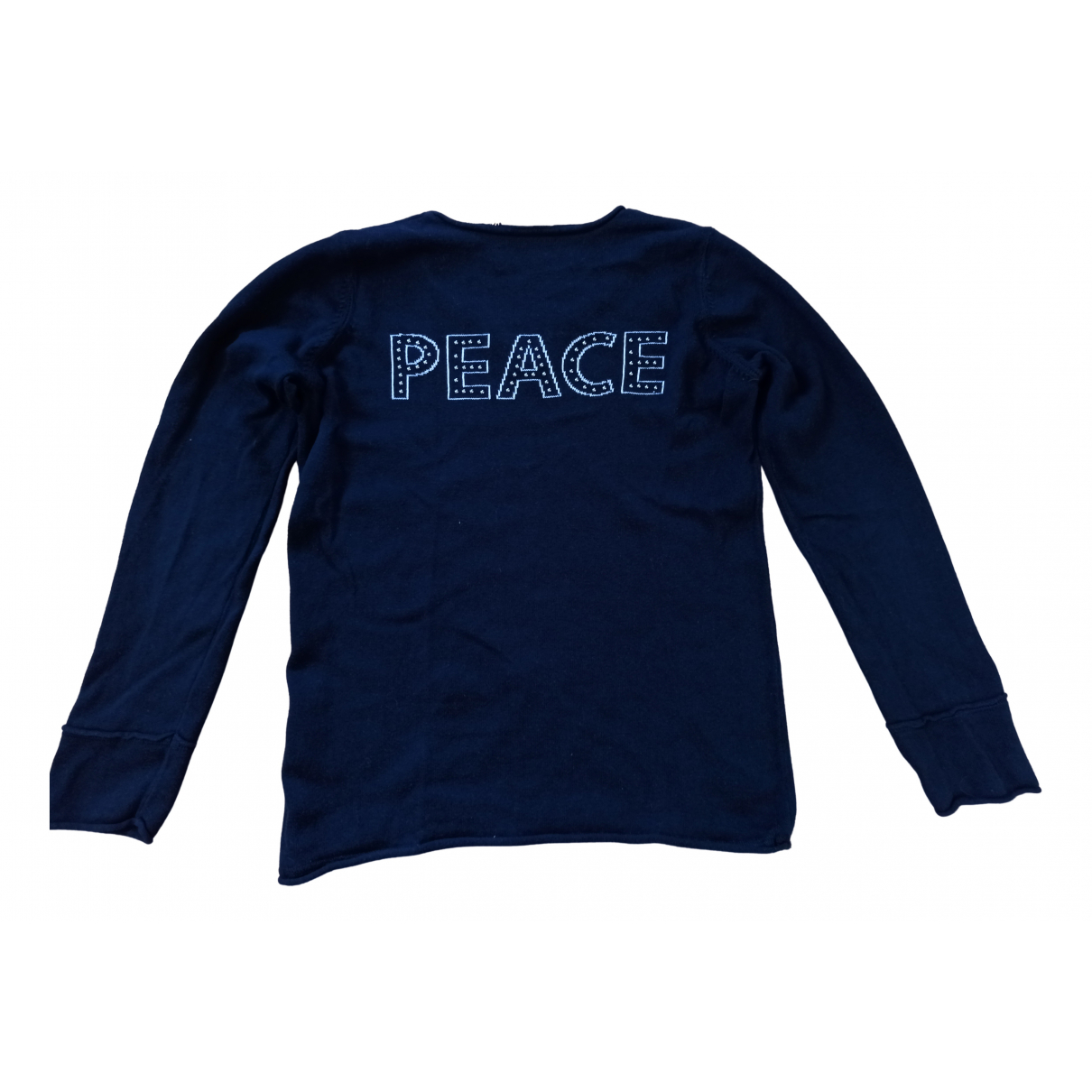 Zadig & Voltaire \N Navy Cotton Knitwear for Kids 10 years - up to 142cm FR