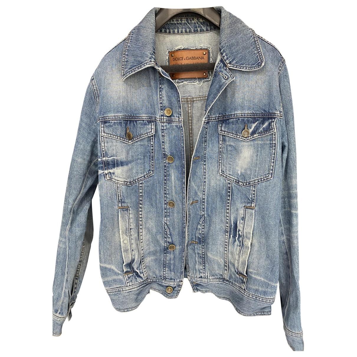 Dolce & Gabbana \N Jacke in  Blau Denim - Jeans