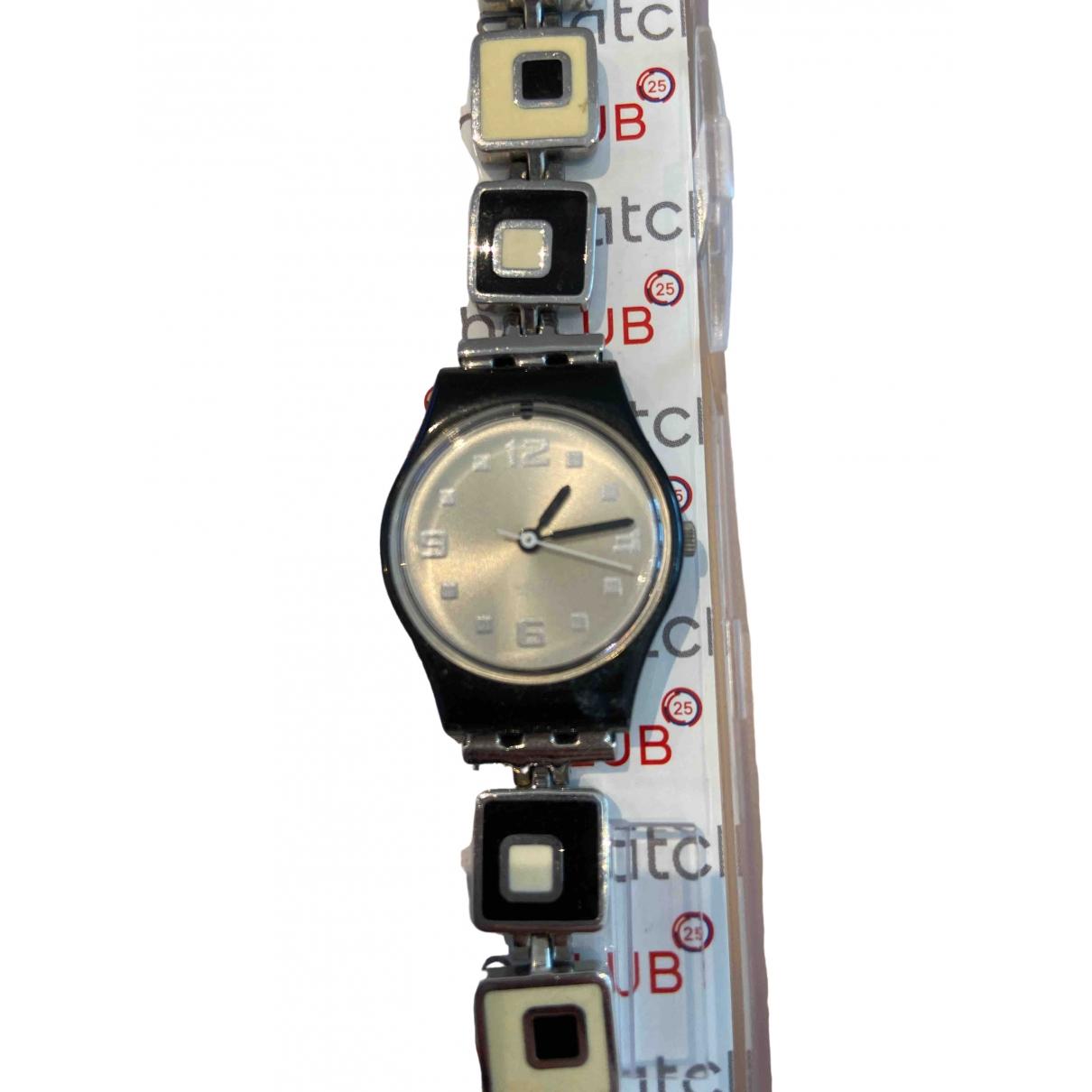 Swatch \N Uhr in  Bunt Stahl