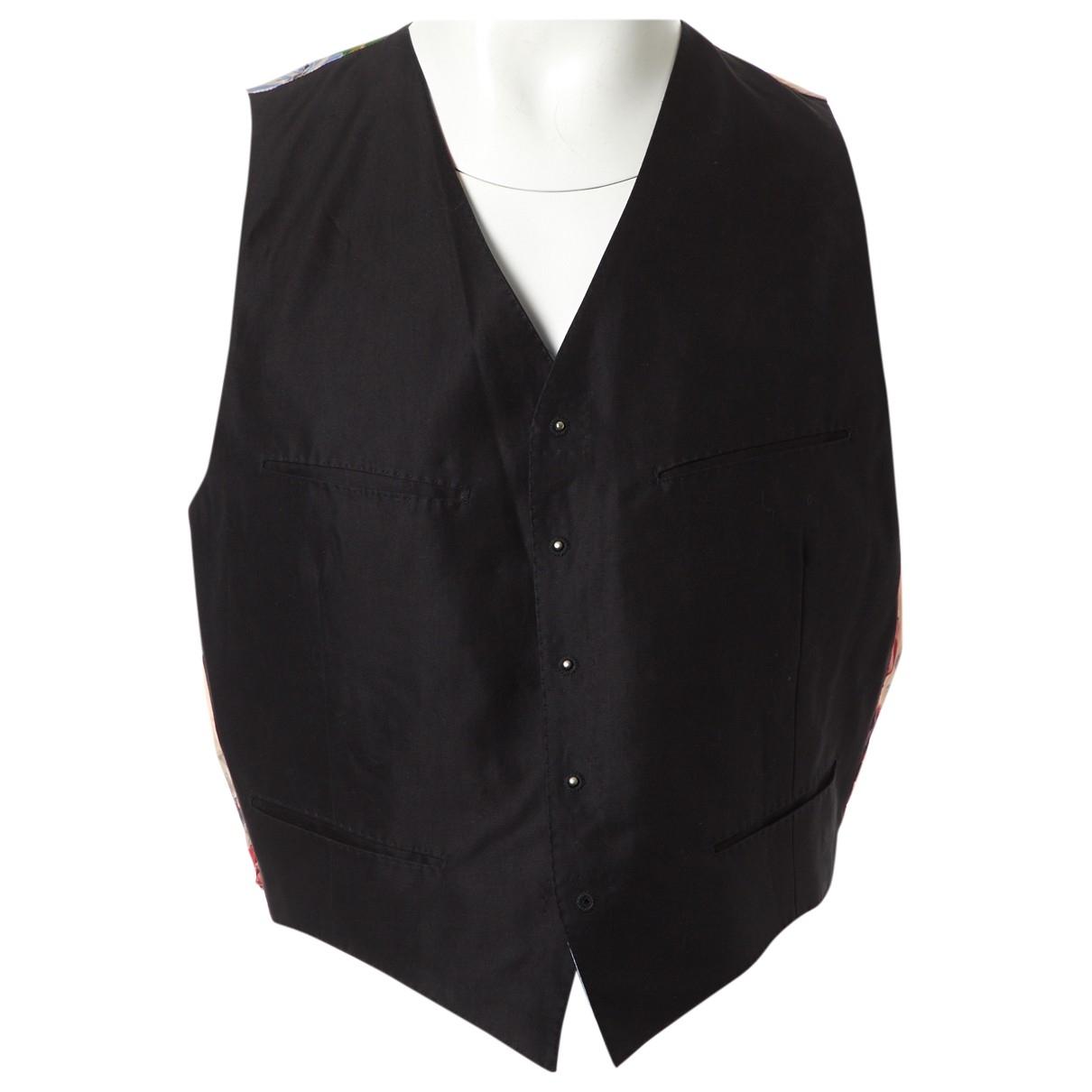 Jean Paul Gaultier - Vestes.Blousons   pour homme en coton - noir