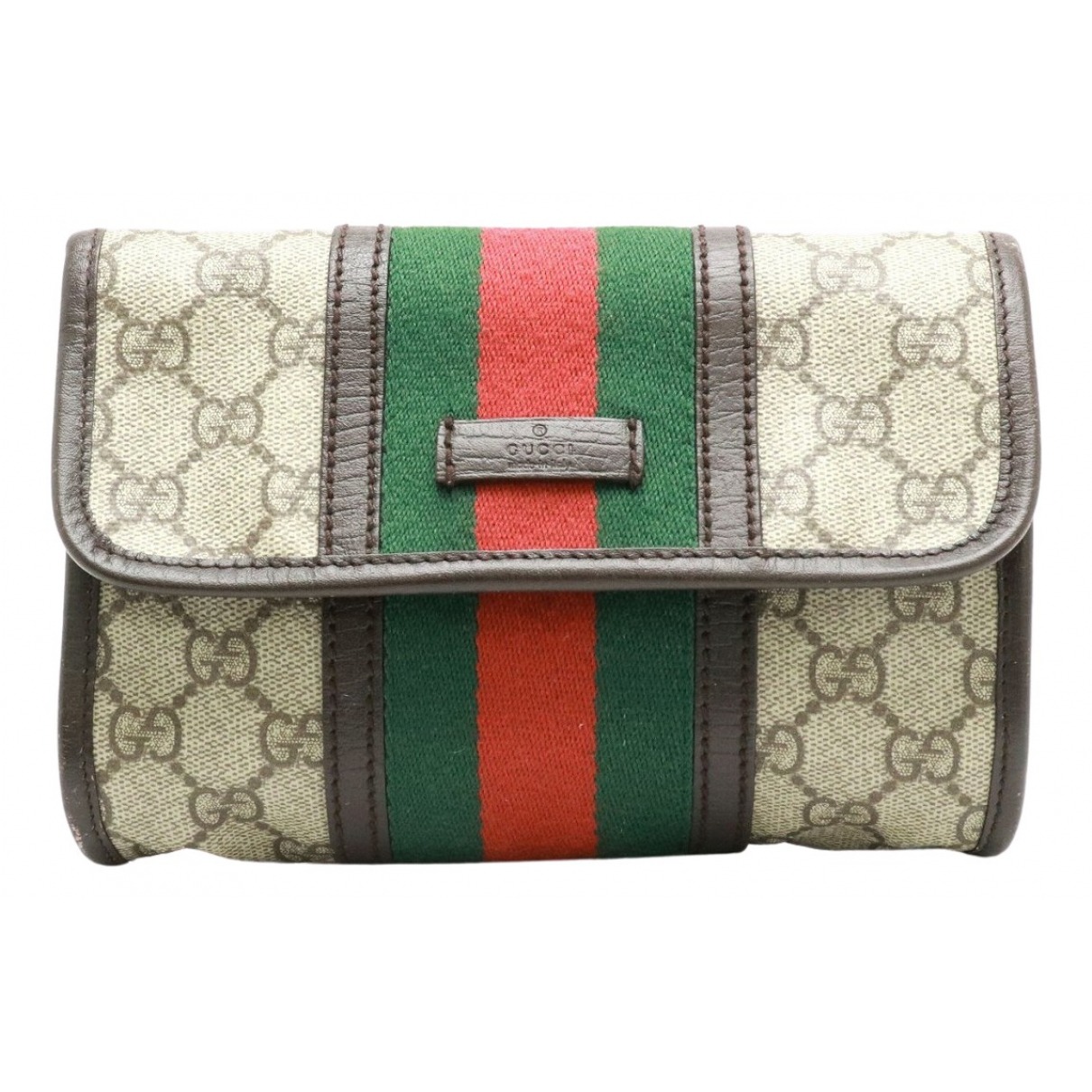 Gucci Ophidia Beige Cloth Clutch bag for Women N