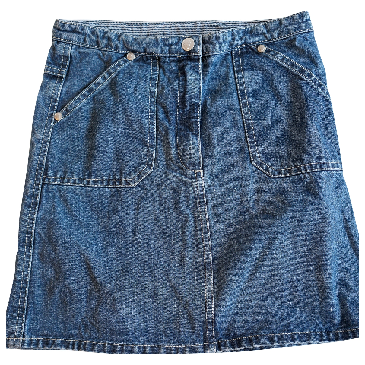 Petit Bateau \N Blue Denim - Jeans skirt for Kids 8 years - up to 128cm FR
