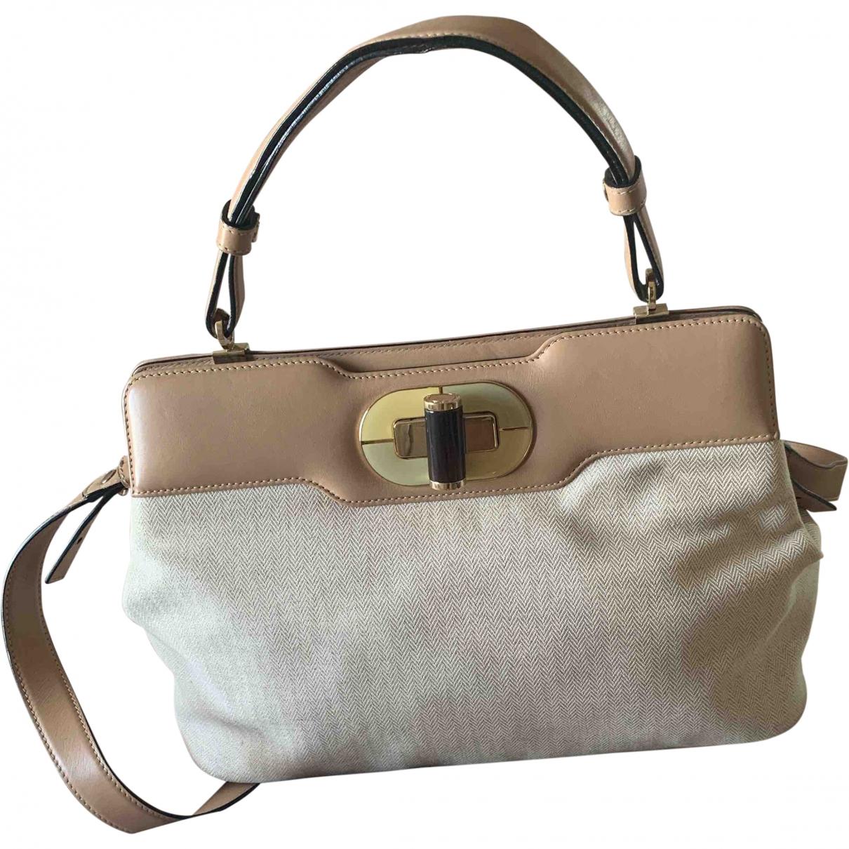 Bvlgari Bulgari Beige Leather handbag for Women \N