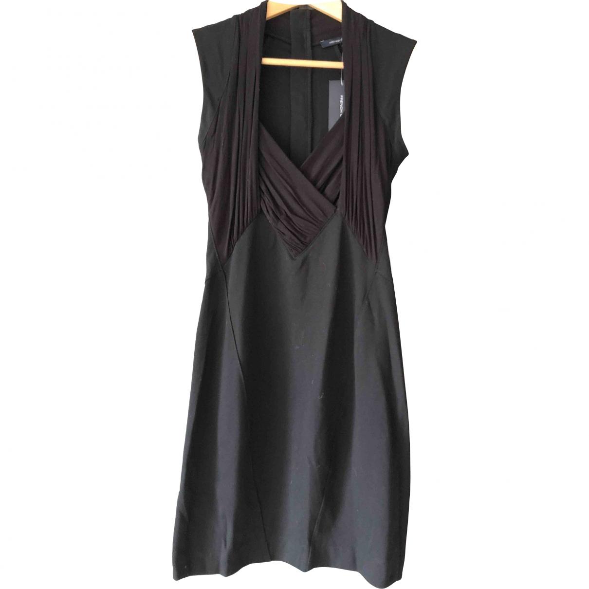 French Connection \N Kleid in  Schwarz Baumwolle - Elasthan