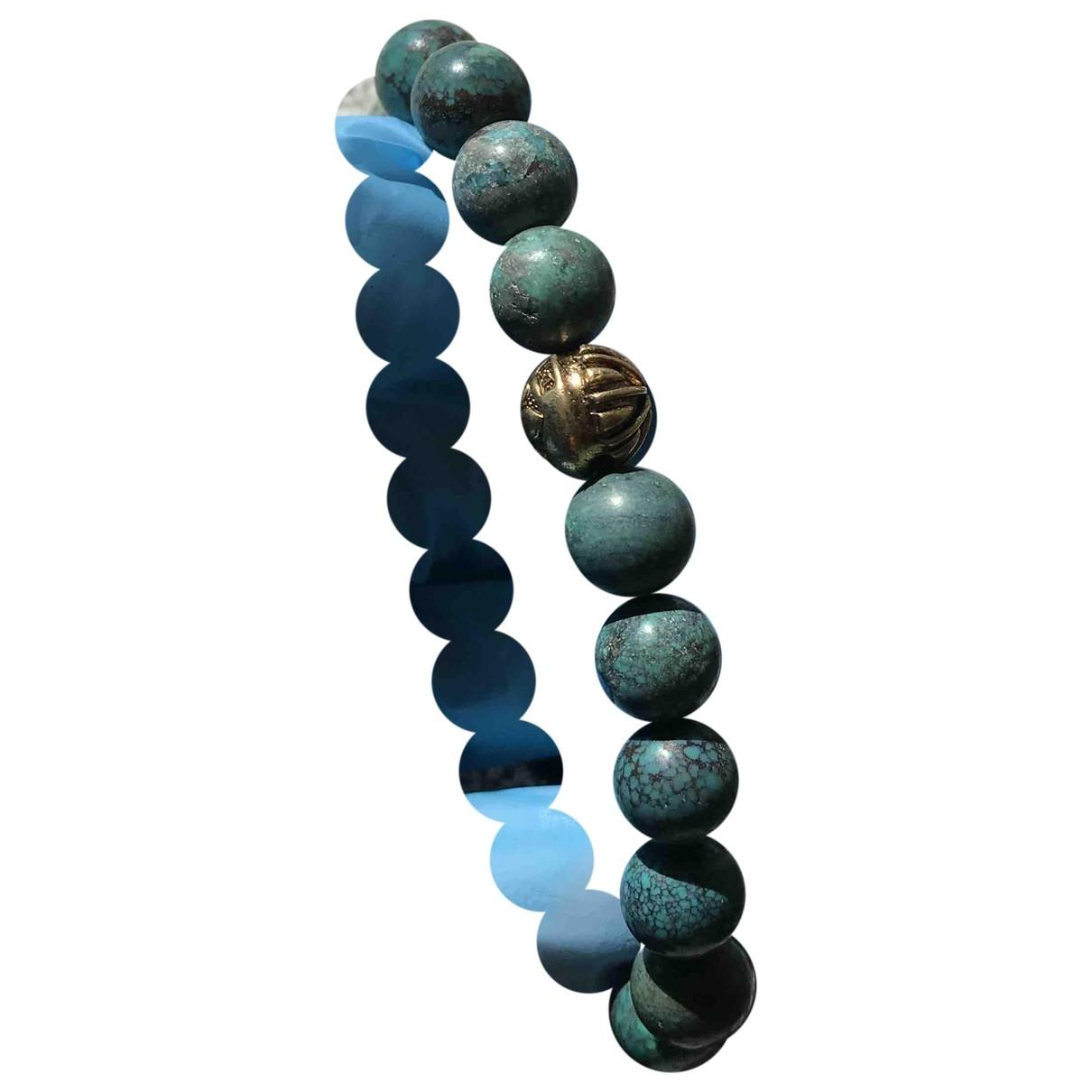 Nialaya \N Armband in  Tuerkis Metall