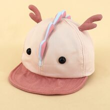 Kleinkind Kinder Baseball Hut mit Karikatur Dekor