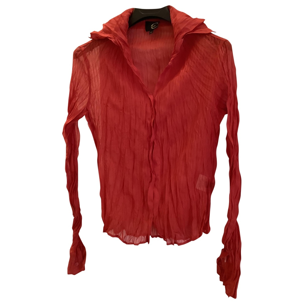 Just Cavalli \N Top in  Rot Polyester