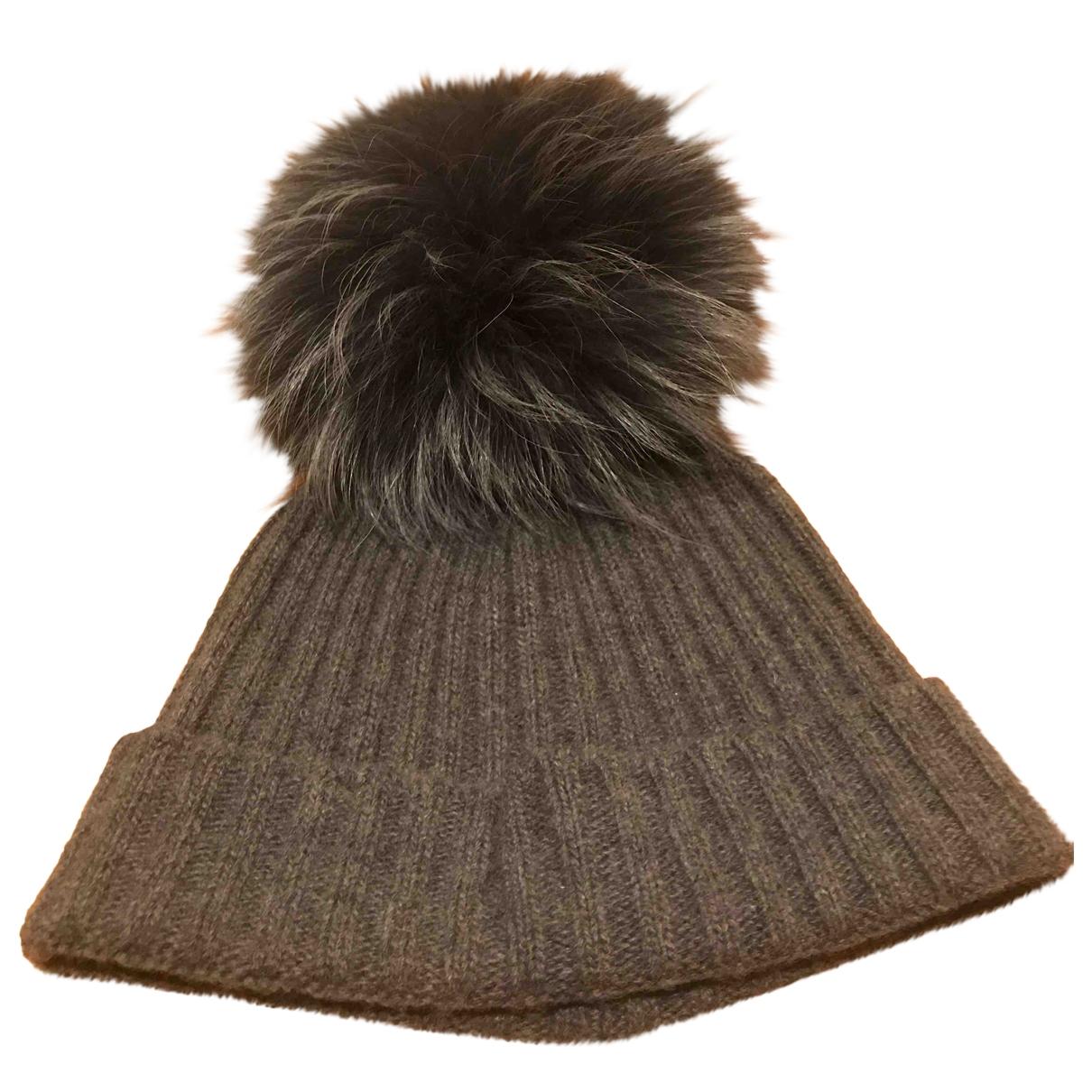 - Chapeau   pour femme en laine - gris