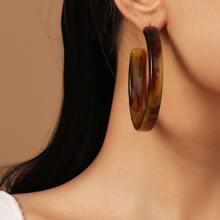 Simple Cuff Hoop Earrings