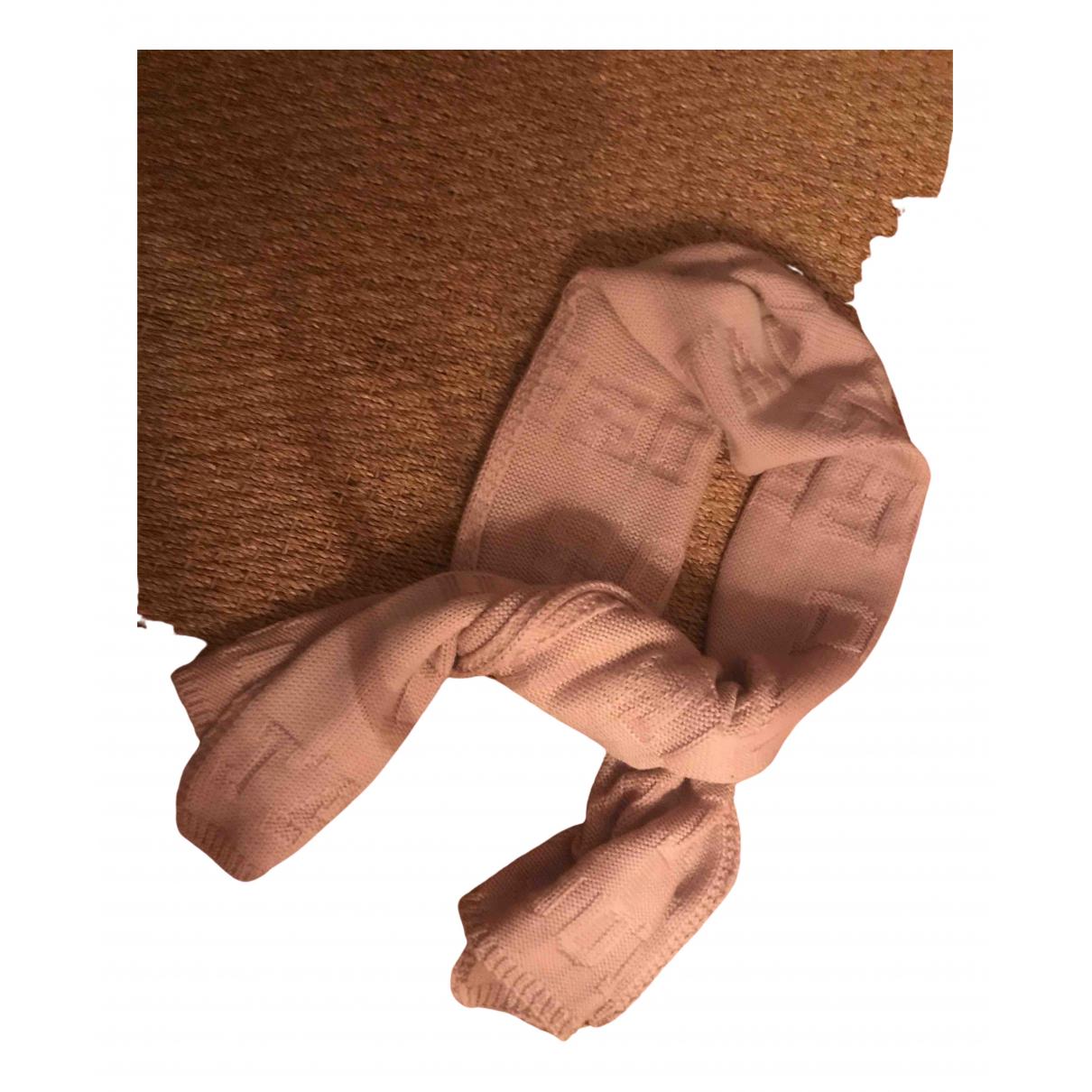Dior - Foulard   pour femme en laine - rose