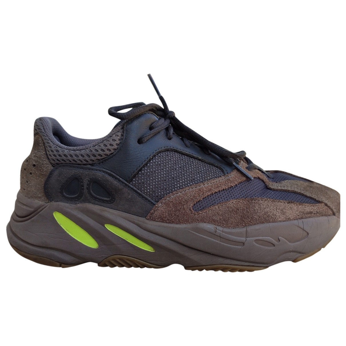 Yeezy X Adidas - Baskets Boost 700 V1  pour homme en toile - marron