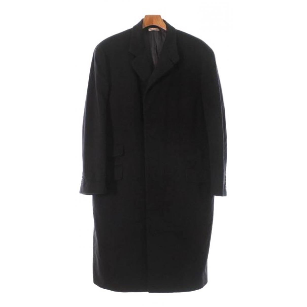 Hermes - Manteau   pour homme en cachemire - marine