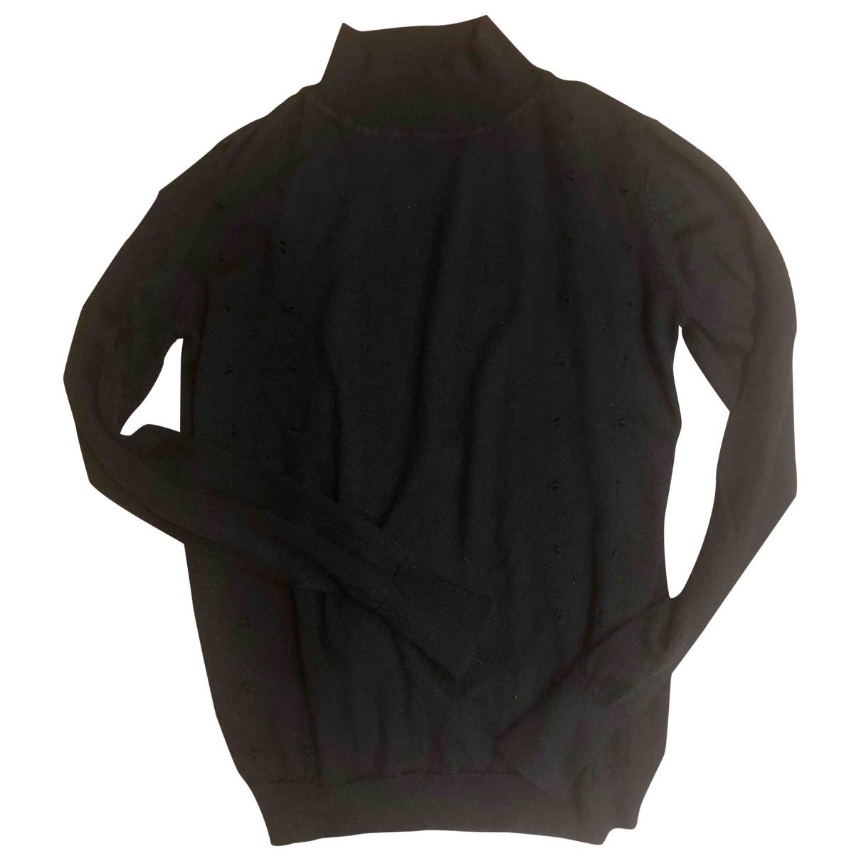Hermes - Pull   pour femme en laine - noir