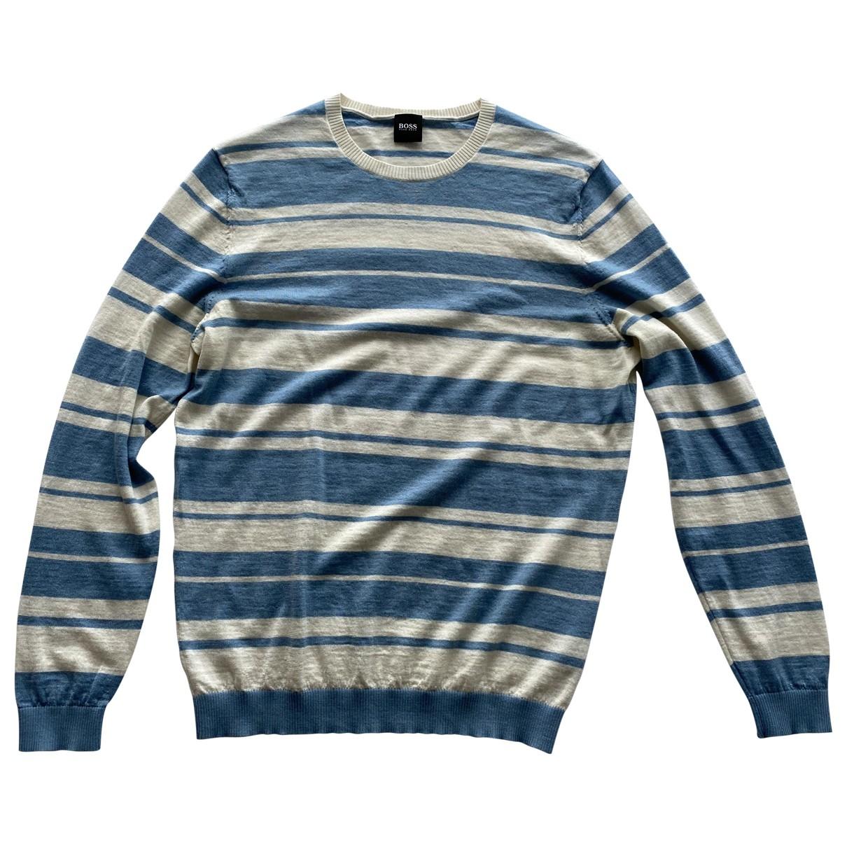 Boss \N Blue Wool Knitwear & Sweatshirts for Men L International