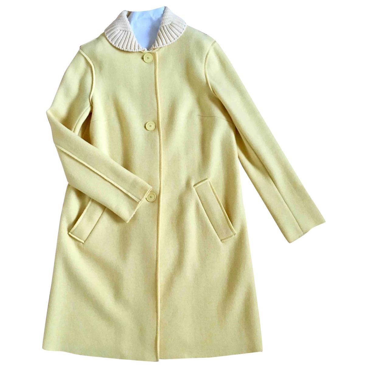 Max & Co \N Yellow Wool coat for Women S International
