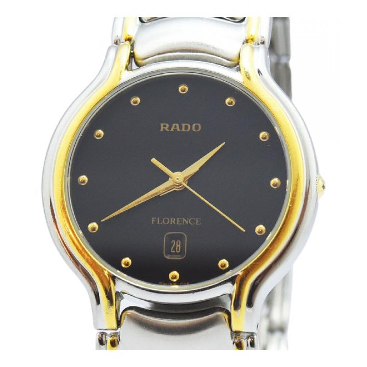 Rado - Montre   pour homme en acier - noir