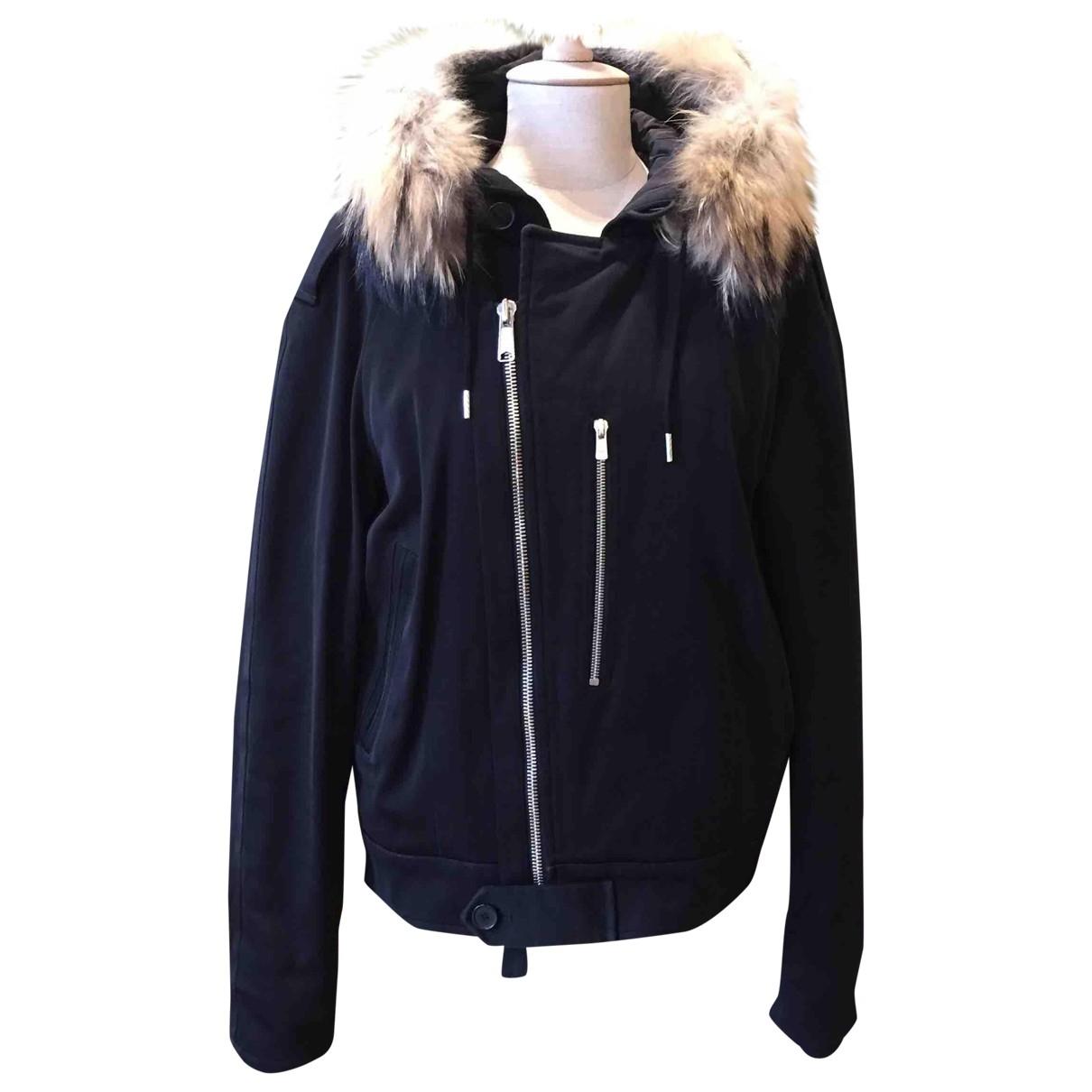 Sandro \N Black Cotton coat  for Men M International