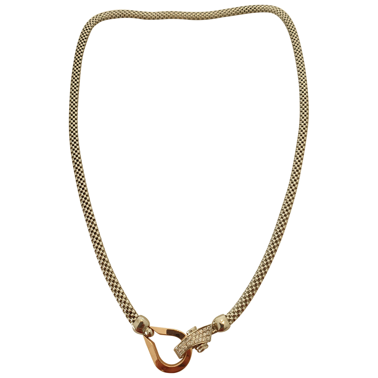 Collar Chaines de Plata Non Signe / Unsigned