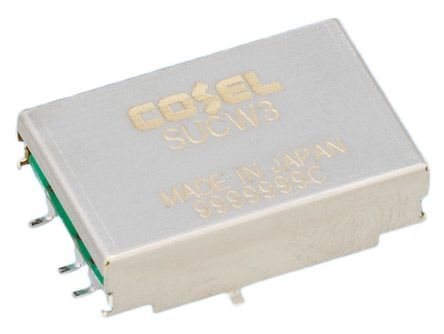 Cosel 3.12W Isolated DC-DC Converter Surface Mount, Voltage in 4.5 → 9 V dc, Voltage out ±12V dc