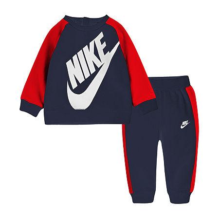 Nike Colorblock Toddler Boys 2-pc. Pant Set, 4t , Blue
