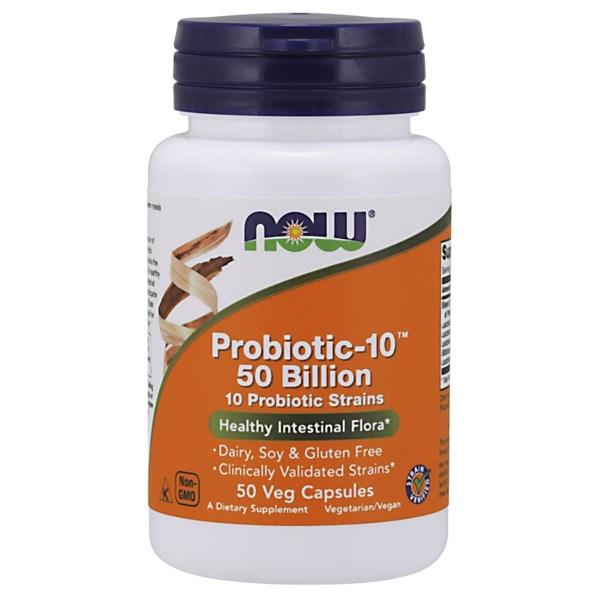 Probiotic-10 50 Billion 50 Vcaps by Now Foods