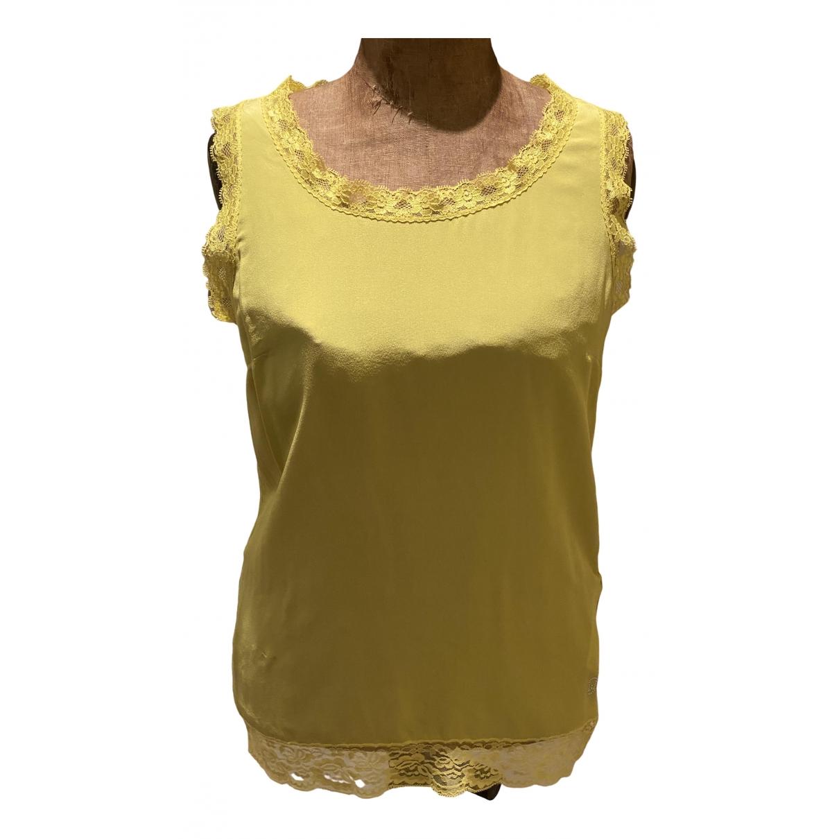 Liu.jo - Top   pour femme - jaune
