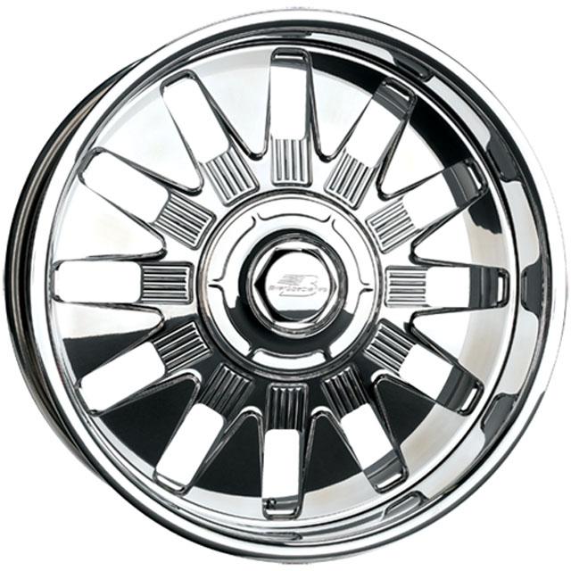 Billet Specialties GS68262Custom GS68 Wheels 26x12