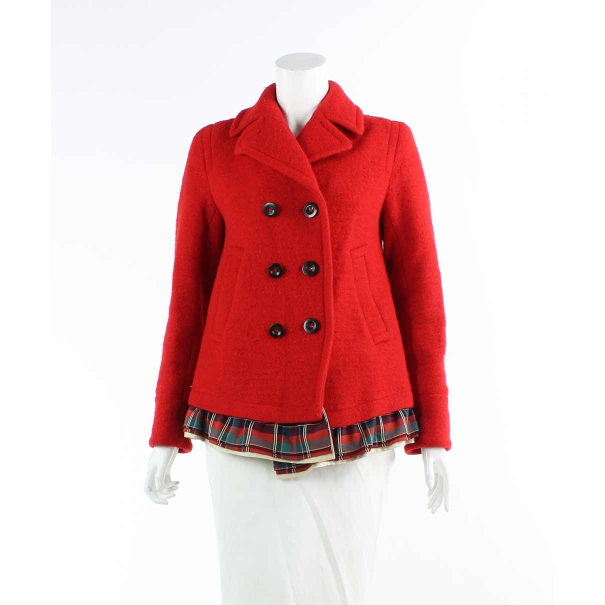 Marc By Marc Jacobs \N Red Cotton coat for Women XS International