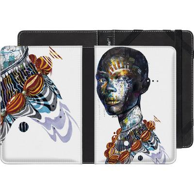 Kobo Glo HD eBook Reader Huelle - Zebra von Minjae Lee