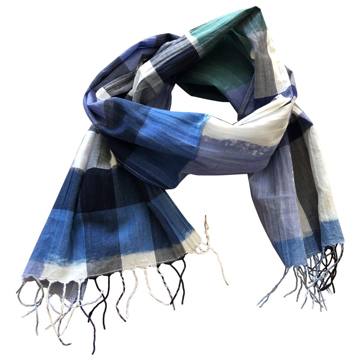 Burberry \N Halstuecher, Schal in  Blau Baumwolle