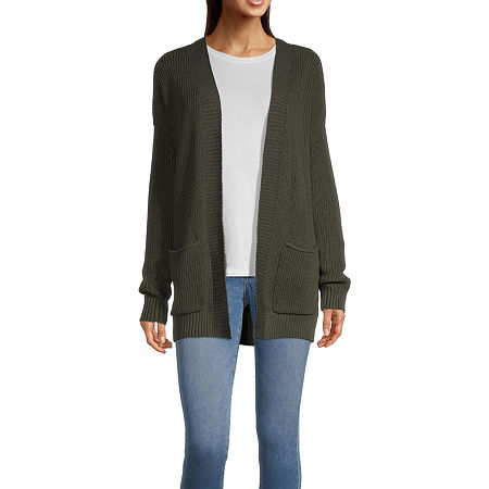 a.n.a Womens Cardigan, Petite X-small , Green