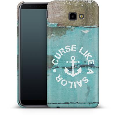 Samsung Galaxy J4 Plus Smartphone Huelle - Curse Like A Sailor von Statements