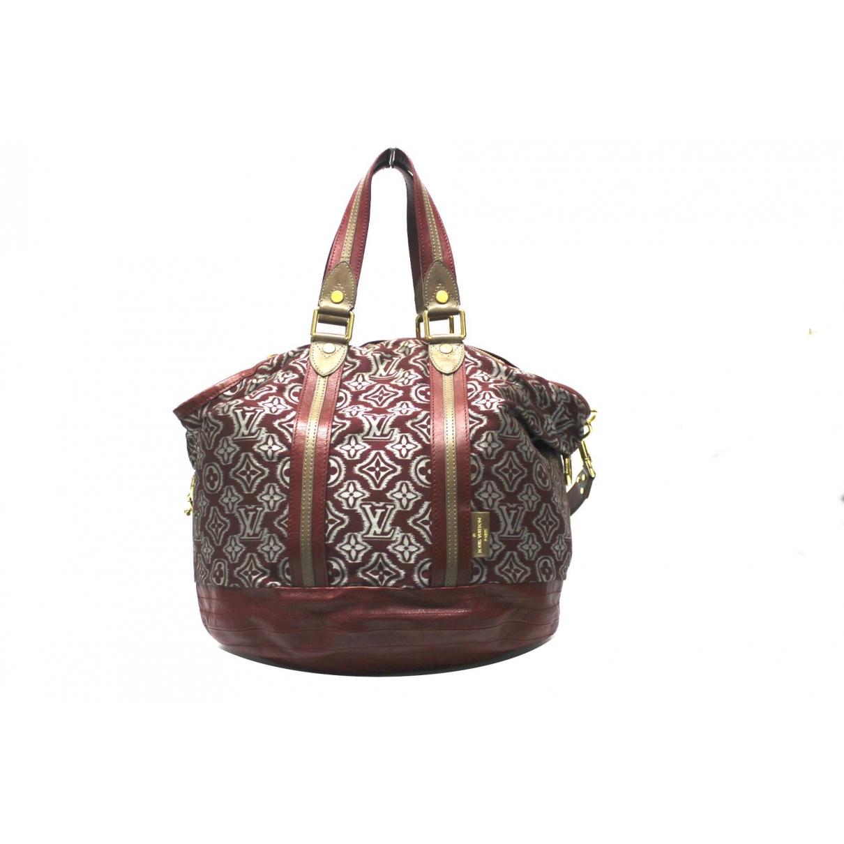 Louis Vuitton - Sac a main   pour femme en toile - bordeaux