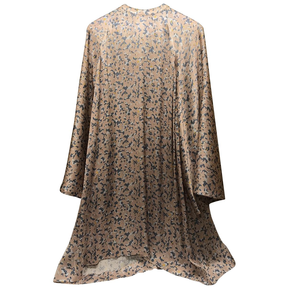 Acne Studios \N Kleid in  Rosa Polyester