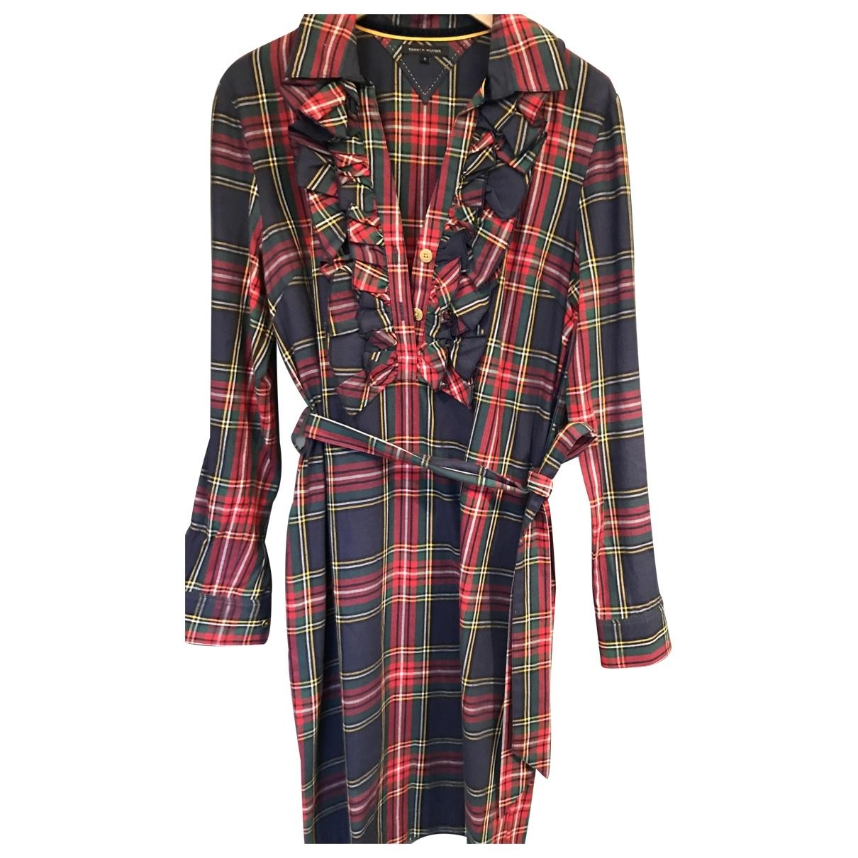 Tommy Hilfiger \N Red Wool dress for Women 10 UK