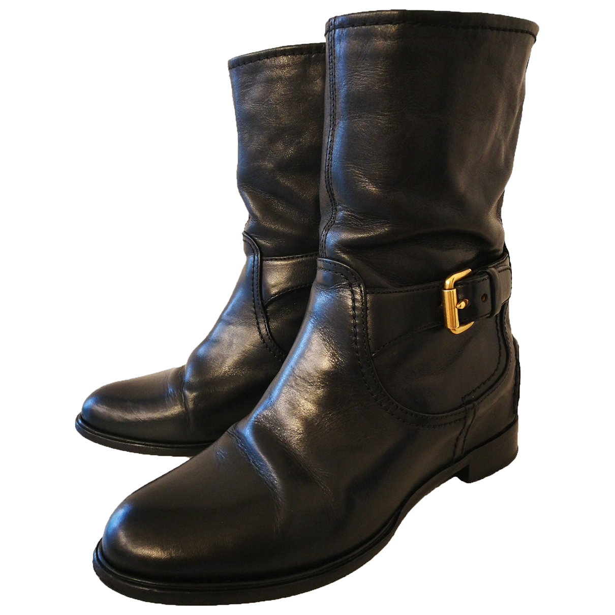 Carshoe \N Stiefeletten in  Schwarz Leder