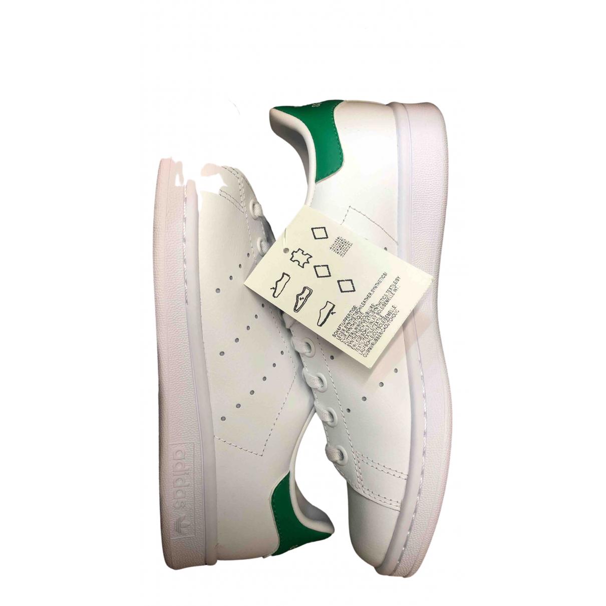 Adidas Stan Smith Sneakers in  Weiss Kautschuk