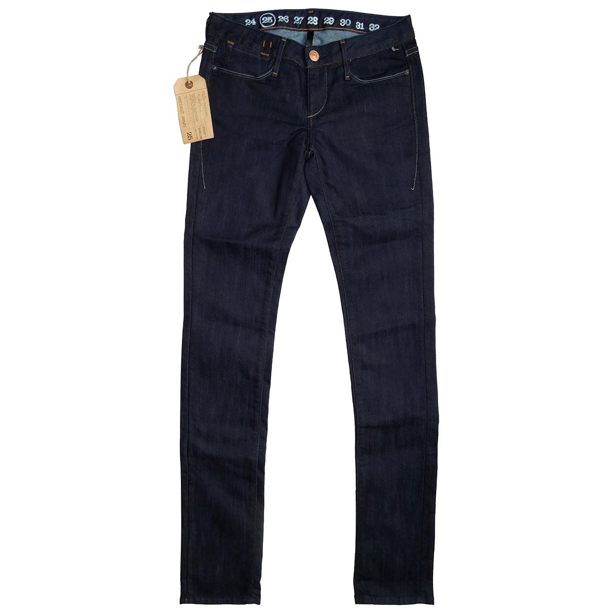Earnest Sewn \N Blue Denim - Jeans Jeans for Women 25 US