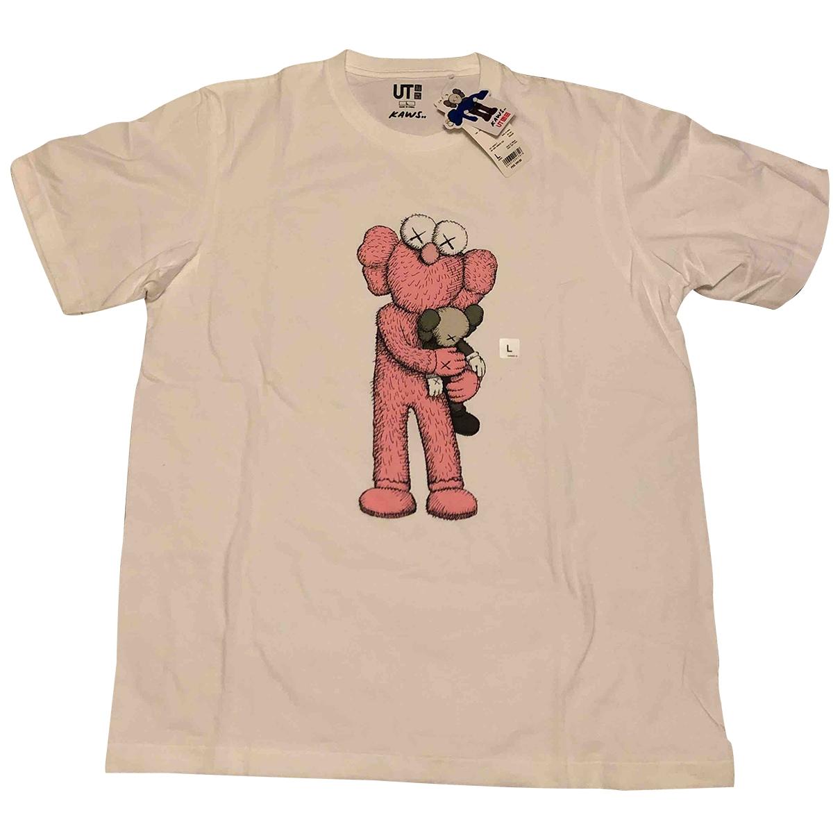Kaws X Uniqlo \N T-Shirts in  Weiss Baumwolle