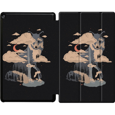 Amazon Fire HD 10 (2017) Tablet Smart Case - At the foot of fox mountain von ND Tank