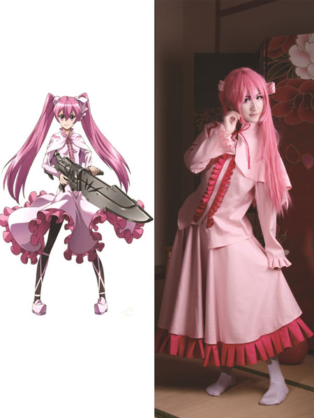 Milanoo Akame Ga KILL! Mine Halloween Cosplay Costume