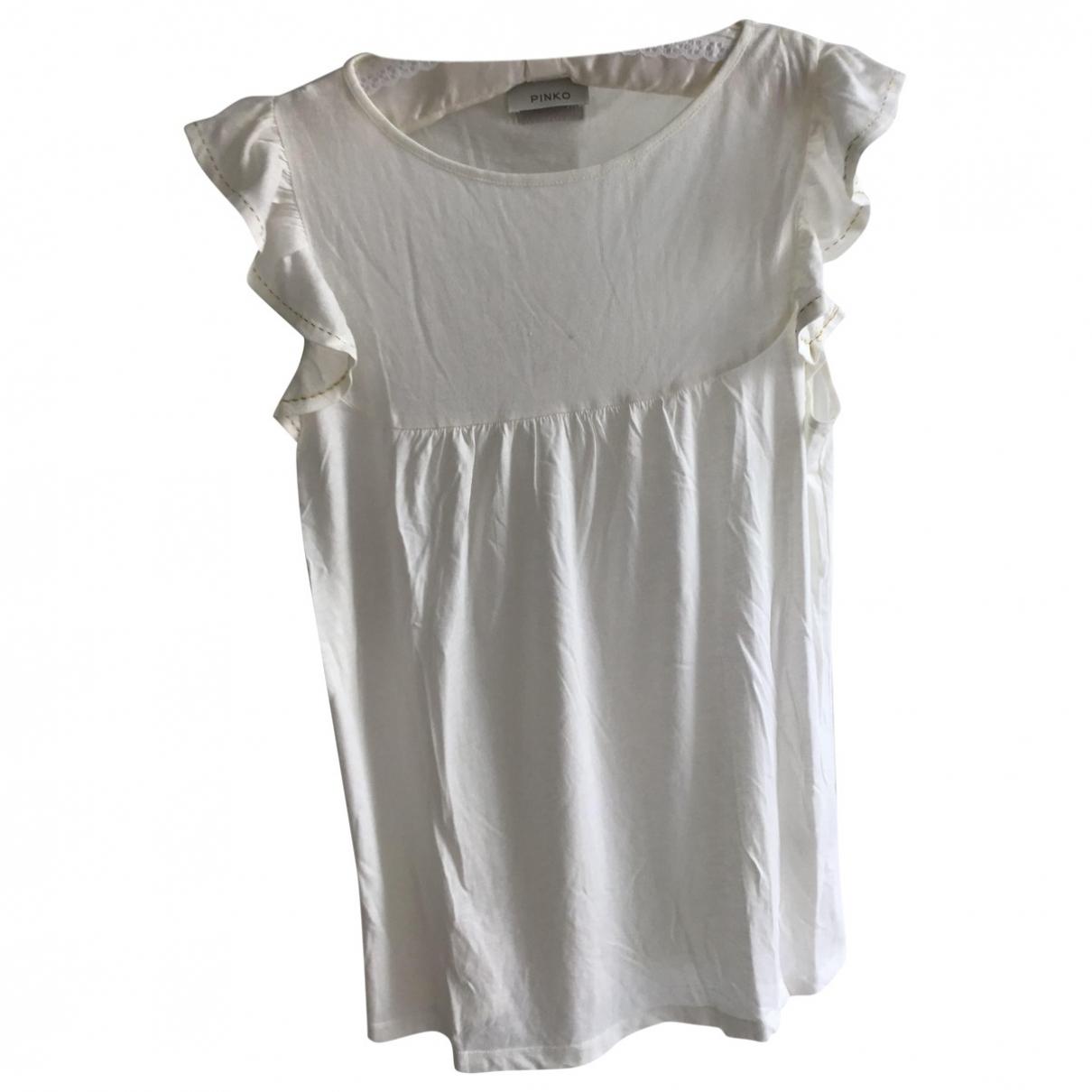 Pinko \N White Cotton Knitwear for Women 40 FR
