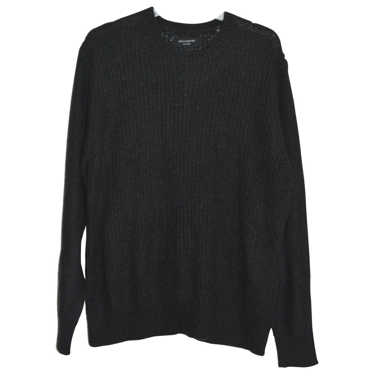 All Saints \N Pullover.Westen.Sweatshirts  in  Schwarz Wolle